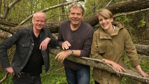 MILJØKANDIDATER: SVs stortingsrepresentanter og miljøkandidater. Fra venstre Lars Haltbrekken, Arne Nævra og Kari Elisabeth Kaski.