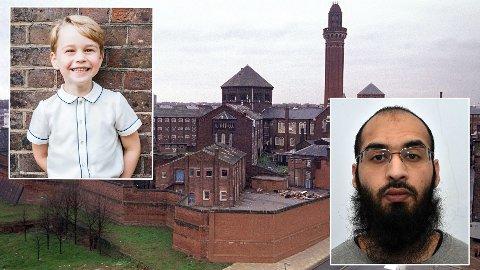 KNIVSTUKKET:Husnain Rashid (32) skal ha blitt knivstukket i fengselet hvor han soner en dom på 25 år. Han er blant annet dømt for oppfordring til å angripe Pirnce George. Foto: Montajse/NTB Scanpix