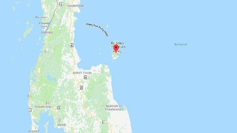 KOH SAMUI: En nordmann skal være funnet død i en bil i på øya Koh Samui i Thailand.