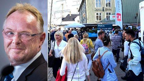 Så har jeg sett det også: At en avgått statsråd og hans kjæreste har klart å holde hele medie-Norge i ånde en hel dag - for så å kuppe selve partilederdebattens, skriver Erik Stephansen.