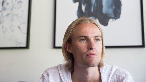 TILBAKE I BAKKEN: Daniel-Andre Tande er tilbake i hoppbakken etter å ha slitt med sykdom i vår.