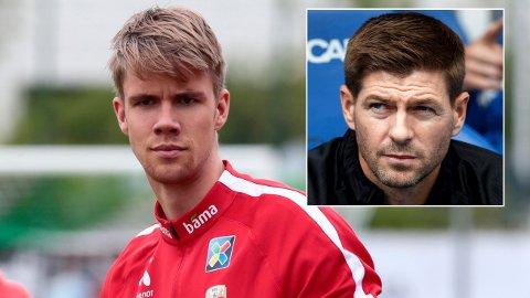 STOROPPGJØR: Kristoffer Ajer spilte søndag for Celtic da de tok imot Steven Gerrard og rivalen Rangers.