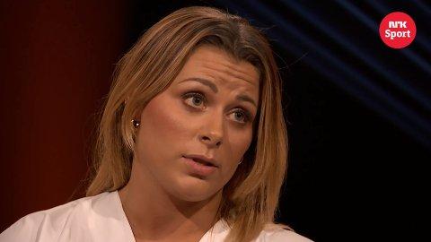 SNAKKER UT: Nora Mørk gjester NRK-programmet Lindmo fredag.