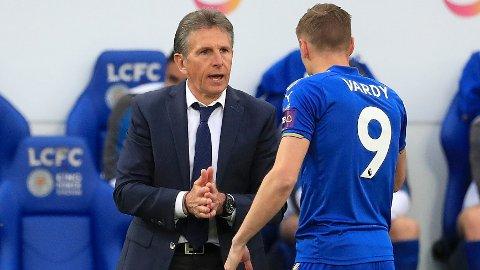 SINT: Jamie Vardy skal være sint på manager Claude Puel etter å ha blitt varslet om at han vil bli vraket til lørdagens kamp mot West Ham.