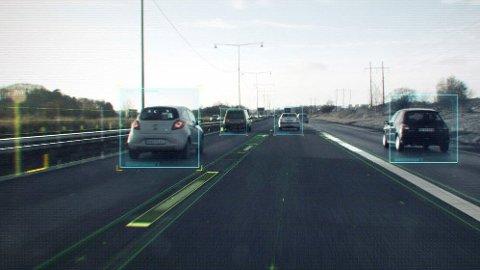 «FRI VILJE» I TRAFIKKEN»: En fullstendig selvkjørende bil skal kunne «lese» trafikken på samme måte som et menneske.