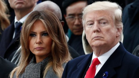 KRAV: USAs førstedame Melania Trump krever landets nasjonale vise-sikkerhetsrådgivers avgang. Foto: AP / NTB scanpix