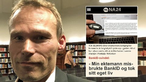 FRYKTER MER SVINDEL: Thomas Nustad i MyBank frykter at regelendringer vil åpne opp for langt mer svindel med BankID enn det vi ser i dag.