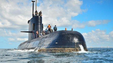FUNNET: Ubåten ARA San Juan forsvant uforklarlig 15. november i fjor. Nå er den funnet.