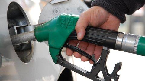 LAVE BENSIN - OG DIESELPRISER: Per dags dato er listenprisen på bensin lavere priser enn på lenge.