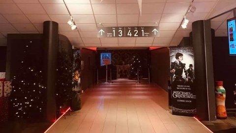 GRATIS: Her i Kristiansand kino har flere politikere kunnet komme gratis inn på kinovisninger i flere år, og noen gjør det fortsatt.