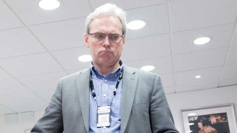 BEKYMRET: Namsfogden Alexander Dey i Oslo er bekymret for den kraftige økningen i antall småkrav.