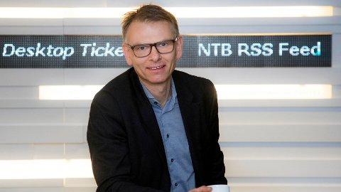 GIR SEG ETTER 14 ÅR: Ole-Kristian Bjellaanes slutter som nyhetsredaktør i NTB.