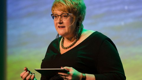 VENSTRE-LEDER: Trine Skei Grande er leder for Venstre og kulturminister.