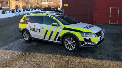 ARBEIDSULYKKE: Politiet rykket ut til en arbeidsulykke på Eikhaugen i Drammen.