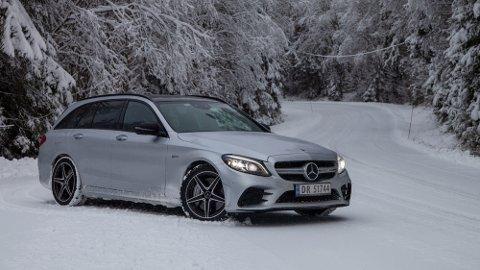 ENKEL KONKLUSJON: Den oppgraderte Mercedes AMG C43 er en helt fantastisk bil.