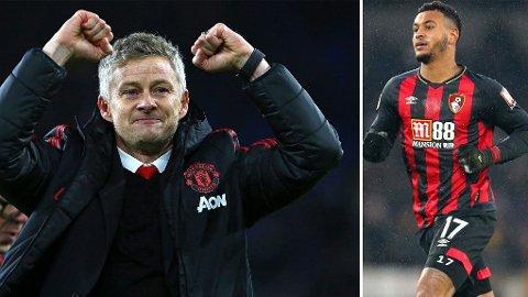 GJENFORENING? Britiske aviser mener Ole Gunnar Solskjær vil ha Joshua King tilbake til Manchester United.