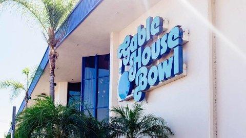 FLERE SKUTT: En skyteepisode fant sted ved denne bowlinghallen i California.