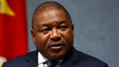 HARDT VÆR: Mosambiks nyvalgte president Filipe Nyosi anklages for å beskytte partifeller mot anklager om korrupsjon.