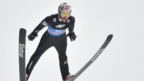 LUFTENS BARON: Robert Johansson fløy inn på pallplass.