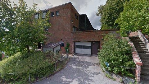 KRANGLET OM P-PLASS: Det var i garasjeanlegget i dette bygget at de to mennene kranglet om eierskapet til parkeringsplassen.
