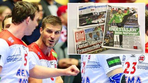 ENDESTASJON: Tyske Bild mener Hamburg blir siste stopp for Norge i håndball-VM.