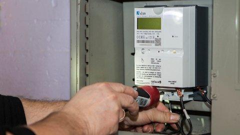 Frem til Elhub lanseres i februar er det ikke mulig å bytte strømselskap. Foto: Paul Kleiven / NTB scanpix