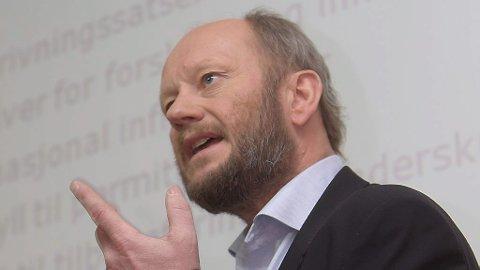 MAKS 3 PROSENT: NHO-topp Stein Lier-Hansen vil ikke se en lønnsvekst i år på 3-tallet.
