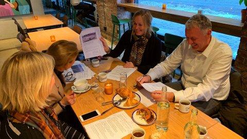 SLØSERIPRISENS JURY: Første møte er avholdt i Sløseriprisens jury på Sentralen i Oslo.