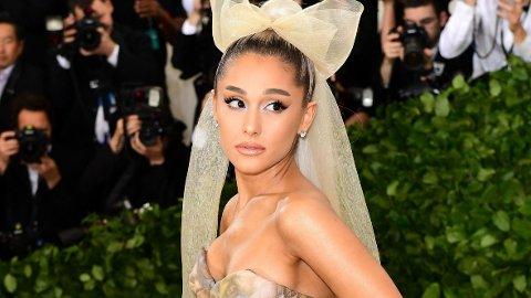 SLÅR TILBAKE: Ariana Grande forklarer hvorfor hun valgte å trekke seg fra å opptre på Grammy-utdelingen.