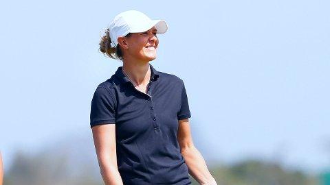 OPPLØFTENDE: Marianne Skarpnord fant tilbake til de gode taktene på avslutningsdagen av LPGA-turneringen i Australia. Her avbildet ved en tidligere anledning.