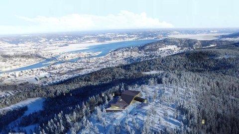 GONDOL: I Drammen er det konkrete planer om en gondolbane fra Marienlyst stadion til Konnerud, via Haukås.