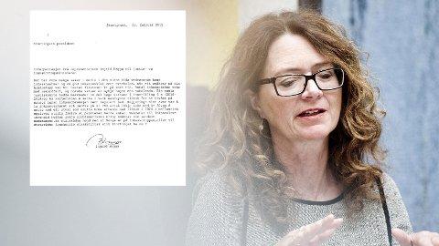 HEGGØ: Ingrid Heggø (Ap) er medlem av Finanskomiteen på Stortinget. Hun krever at justisministeren kommer i Stortinget og svarer på hvorfor ikke inkassosalærer og gebyrer justeres ned nå.