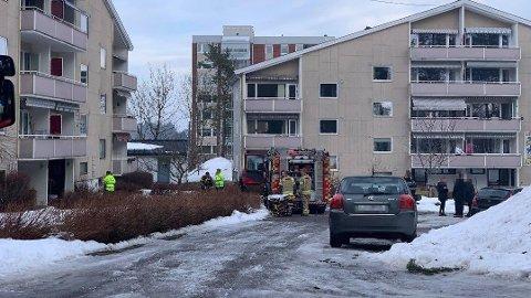 OMKOM: En person har omkommet etter en brann i en leilighet i Tønsberg.