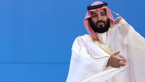 Saudi-Arabias kronprins Mohammed bin Salman ved G20-toppmøtet i Buenos Aires. Arkivfoto: Ricardo Mazalan / AP / NTB scanpix