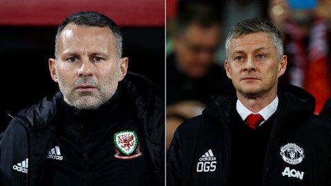 STØTTE. Manchester United-legenden Ryan Giggs mener Ole Gunnar Solskjær bør ansettes på permanent basis.