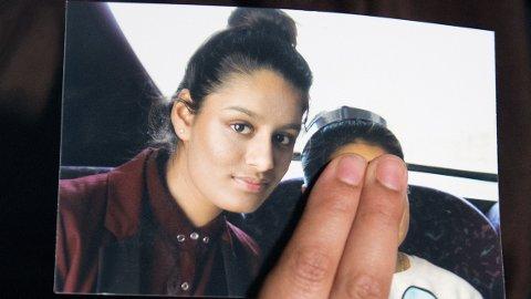 VIL HJEM: IS-bruden Shamima Begum ønsker å returnere til Storbritannia.