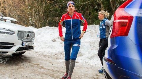 SOMMERFUGLER: Heidi Weng er spent før VM-åpningen. Hun går til mesterskapet uten press.
