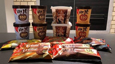 NYHETER: Hennig-Olsen kommer med flere gode iskremer i år, mener Nettavisens testpanel.