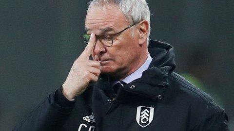 Fulham-manager Claudio Ranieri har ikke maktet å få sving på Fulham etter at han overtok som manager. Onsdag kveld må laget vinne borte mot Southampton for å holde liv i håpet om fornyet eksistens.