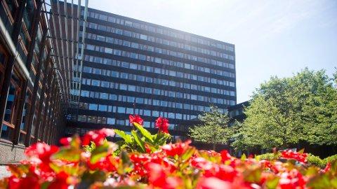 HVER FJERDE: Hver fjerde student har opplevd seksuell trakassering, det viser en ny undersøkelse. Bildet viser Eilert Sundts hus (SV-bygningene) på Blindern i Oslo.