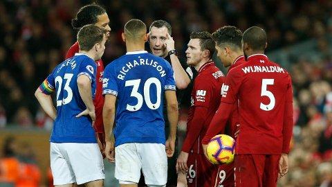 Merseyside-derbyet er alltid ekstremt spennende. Vi håper på en ny deilig fotballkamp mellom Everton og Liverpool søndag.