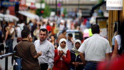 Andelen innvandrere eller norskfødte med innvandrerforeldre utgjør nå 17,7 prosent av den norske befolkningen.