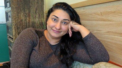 AKTIVIST HELE ÅRET: Shabana Rehman markerer kvinnedagen under paroler som « Ingen ære i æresdrap» og «Din kropp, ditt valg». Hun tror på synlig og offentlig aktivisme, slik at de som lever under negativ sosial kontroll tør å åpne seg om hvordan de har det.