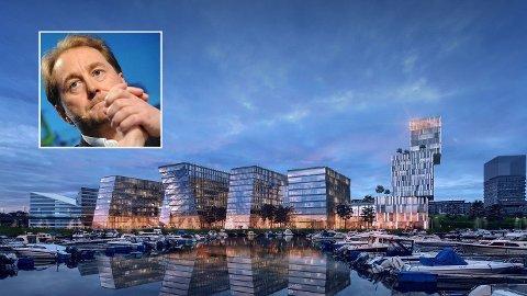 Ifølge Base Property er Kjell Inge Røkke selv aktivt med i planleggingen av en kjempeutbygging i Paradis i Stavanger.