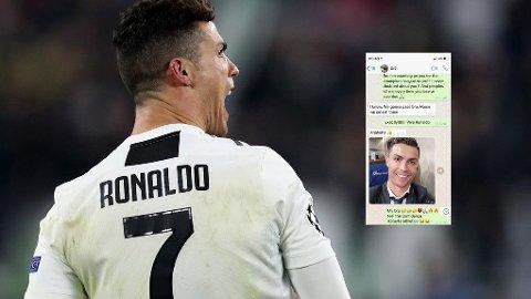 FIKK EVRA-MELDING: Cristiano Ronaldo var offensiv før returoppgjøret med Atletico Madrid. Med god grunn.