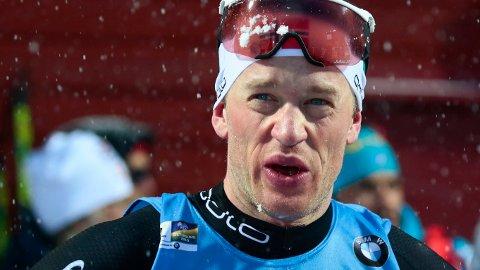 Tarjei Bø har sikret seg to gull og en bronsemedalje hittil i VM. I dag er han en klar medaljekandidat på fellesstarten.