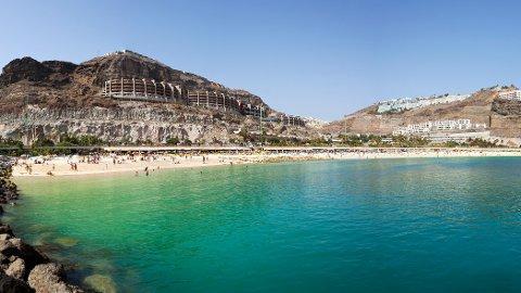 PLAYA AMADORES: På Gran Canaria finner man mange perler som nordmenn reiser med glede til.