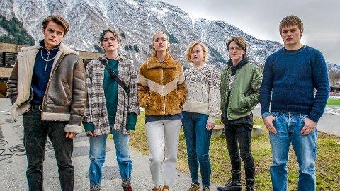 «RAGNAROK» I ODDA: Her er det unge laget som er hyret av Netflix til å spille i en ny TV-serie som kommer til skjermene i 2020.