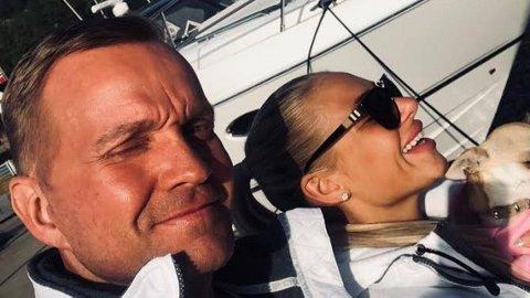 VENTER BARN: Dag Høili og kjæresten Nicole Leonarda Khandji venter barn.