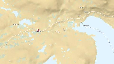 Tirsdag morgen er det kolonnekjøring på riksvei 7 over Hardangervidda på grunn av uvær.
